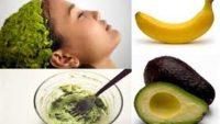 Kuru ve Hasar Görmüş Saçlar için Avokado Saç Maskeleri