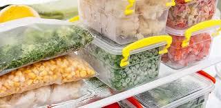 dondurulmuş gıdaların besin değeri