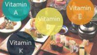Yağda Eriyen Vitaminler: A, D, E ve K