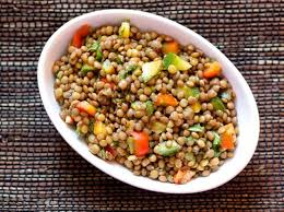 yeşil mercimek salatası tarifi