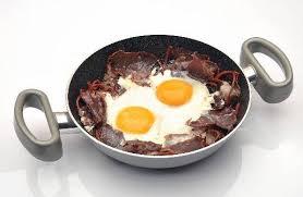 pastırmalı yumurta yapılışı
