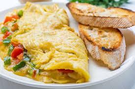 sebzeli omlet yapılışı