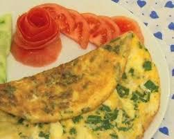 yeşil soğanlı omlet yapılışı
