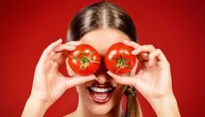 domates suyu maskesi