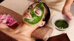 spirulina yüz maskesi