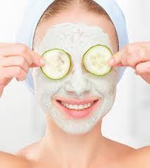 salatalık yüz maskesi