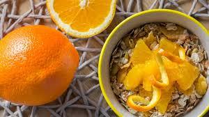 portakal kabuğu nasıl yenir