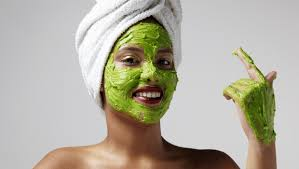 avokado yüz maskesi