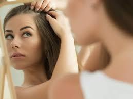 saçların şakaklardan açılması